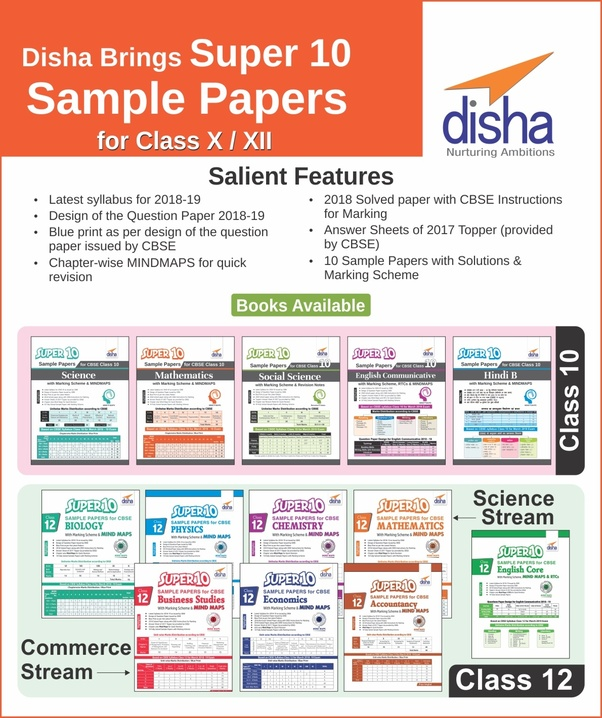 What is the best book for CBSE sample papers for Class 10 and Class
