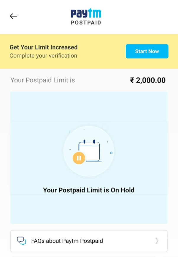 Why is Paytm postpaid not working? - Quora