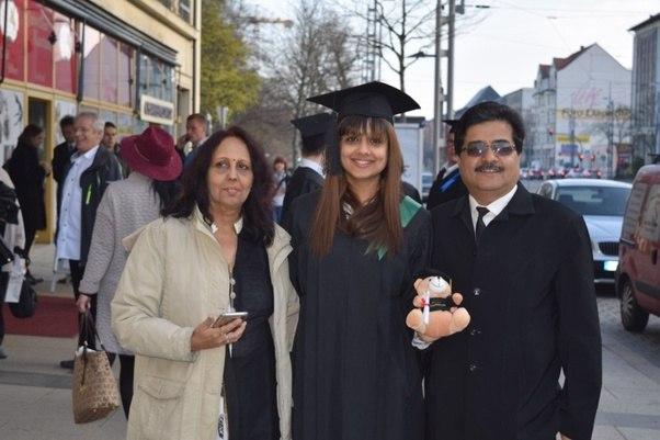 Graduate In Deutsch