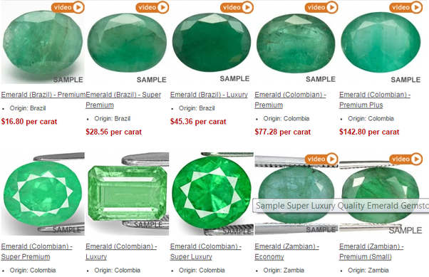 Multicolour Gems Where Can I Get The Best Emerald