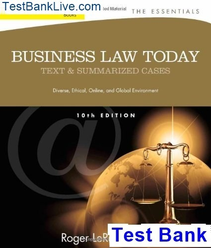 Fundamentals Of Business Law 8th Edition Pdf