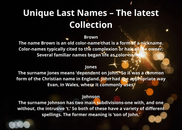 What S The Most Common Last Name On Earth Quora