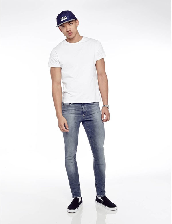 9d21b944ec1 One of the nice things about wearing blue denim is that it s considered a  neutral color when styling outfits. The color blue itself isn t necessarily  ...