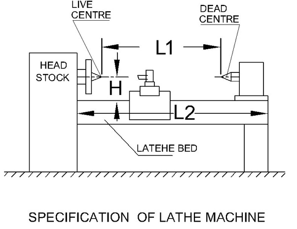 What Are The Specifications Of Lathe Machine Quora
