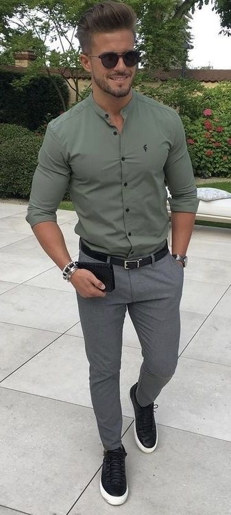 Color shirt what jeans with grey How To