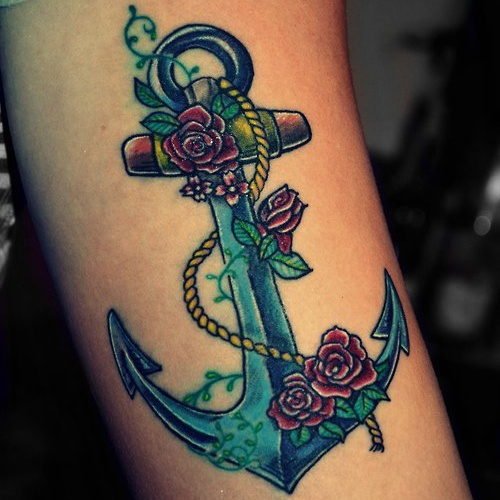 What Does The Anchor Tattoo Mean Quora