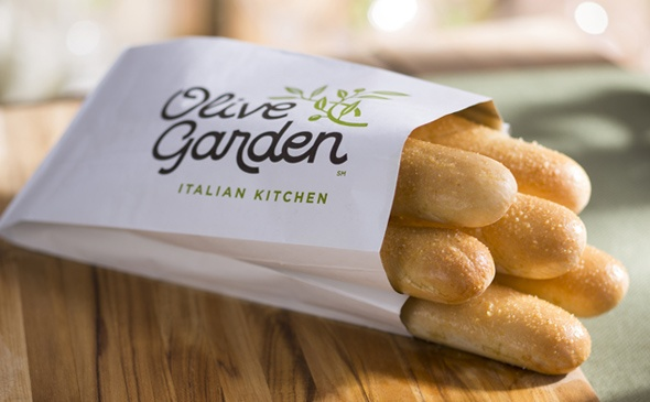 Can you go to olive garden and just eat breadsticks quora - Best thing to eat at olive garden ...