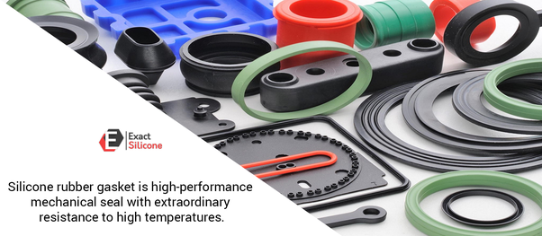 Are silicone gaskets effective as an airtight material for vacuum
