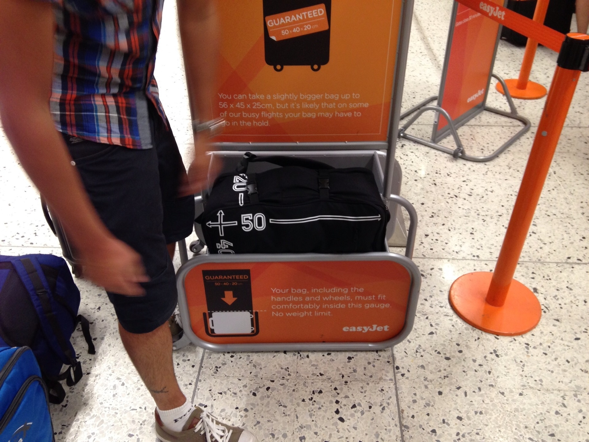 5aaa764b67ae How picky are Ryanair and EasyJet about carry-on luggage limits  - Quora