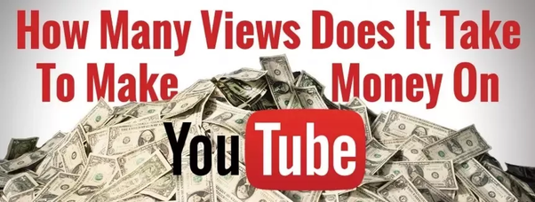 How many views need on youtube to earn money