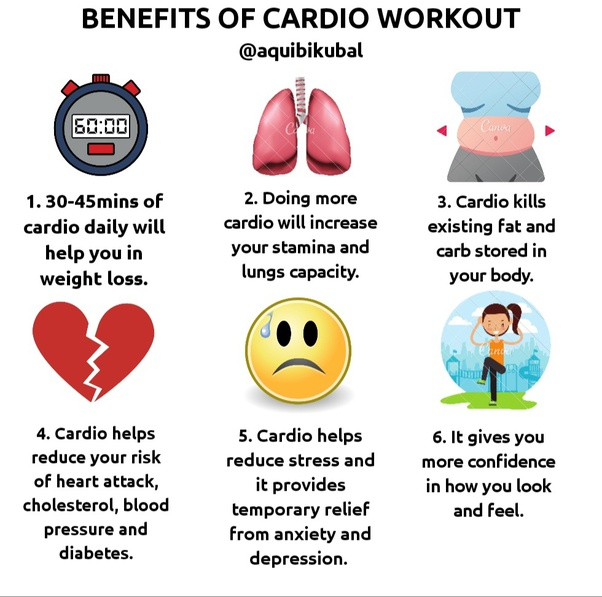 one hour cardiovascular fitness in the home