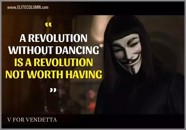 What's the best quote from V for Vendetta? - Quora