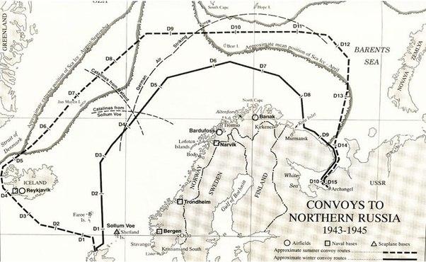 Arctic convoys of World War II