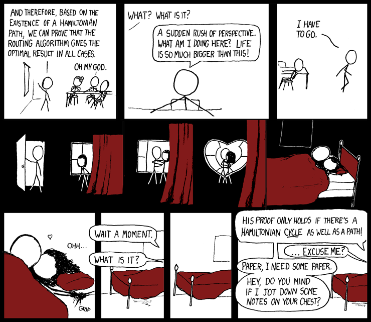 What are some surprisingly moving xkcd comics? - Quora