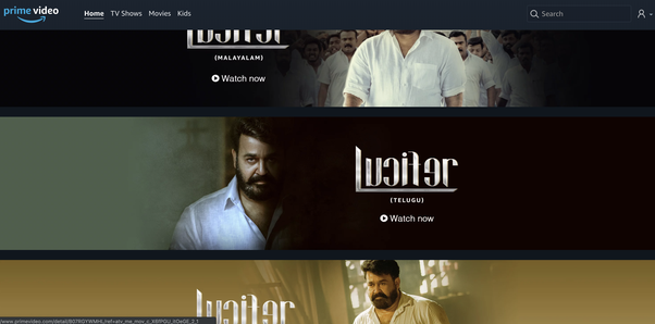 How to download the Lucifer Malayalam movie from Telegram - Quora