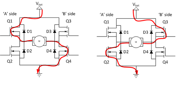 what is the working of a h bridge circuit quora rh quora com h bridge schematic diagram h-bridge circuit diagram mosfet