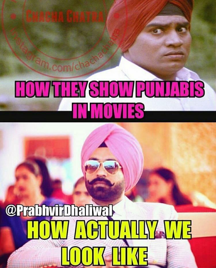 Why do Indian Sikhs come across as being perenially