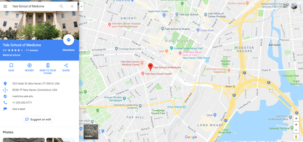Where is Yale medical ? - Quora on princeton map, mermaid map, harvard map, bates map, thames river on world map, wagner map, union map, amherst map, unitec map, ohio u map, london location on world map, west texas a&m map, albany state map, grambling state map, university of pennsylvania map, clayton map, city borders map, englewood map, ceibs map, loyola map,