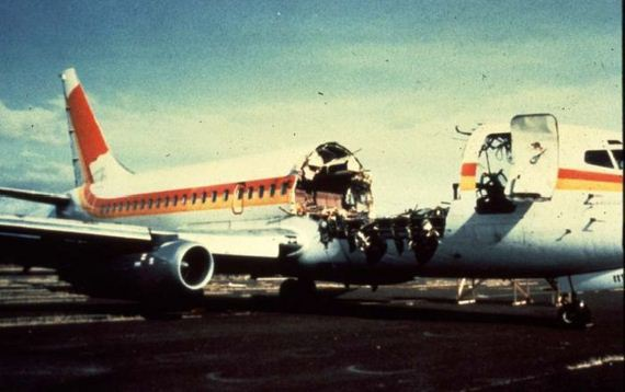 Why Wasn T The Body Of Clarabelle C B Lansing Recovered From The Decompression Explosion That Occurred Aloha Airlines Flight 243 And What If Any Effects Of Would Have Been Felt By Her Being