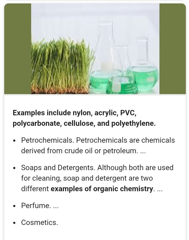 What Are The Organic Compounds We Use In Our Daily Life