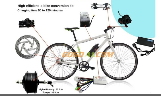 What are the low cost electric bike conversion kits in India
