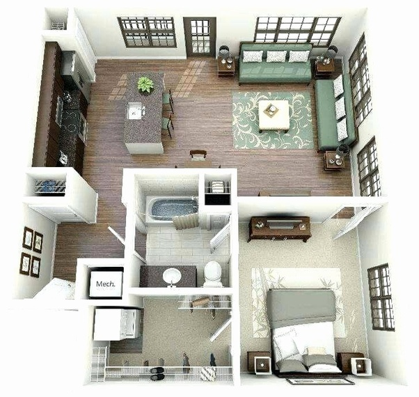 What Are The Best Home Design Plan For 1500sqfeet In India