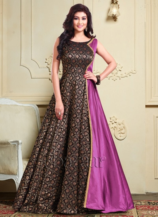 Which is the best website to buy a designer indowestern gown/saree ...