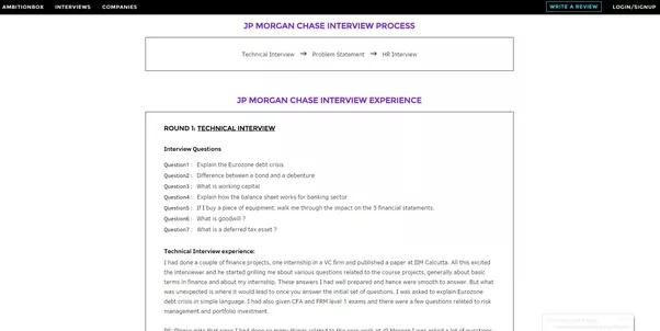 Jp morgan hirevue interview questions