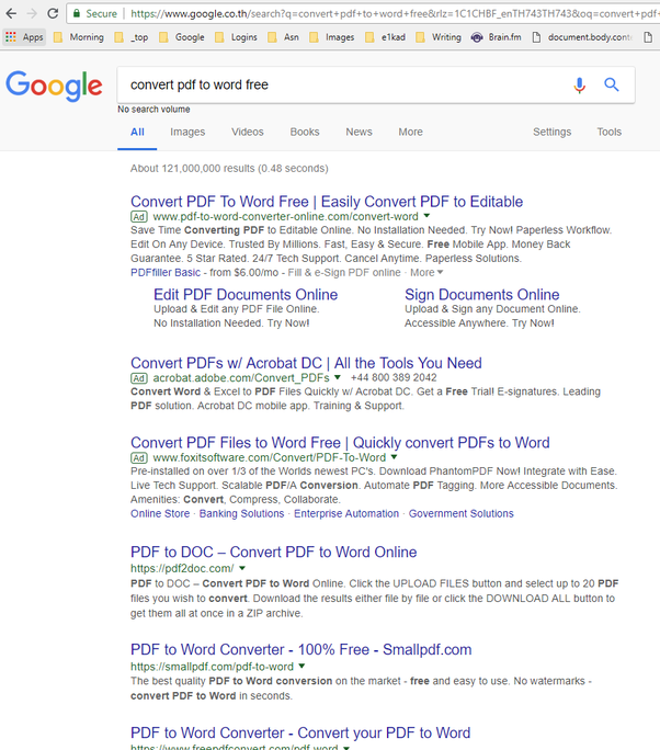 What is the fastest way to convert PDF to word? - Quora