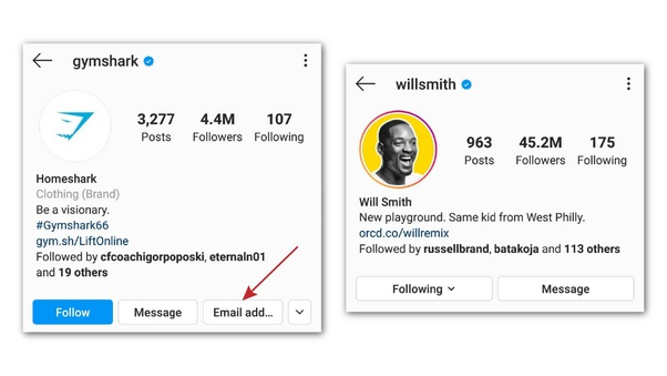 Is there any way to find out the email address used by an Instagram profile?  - Quora
