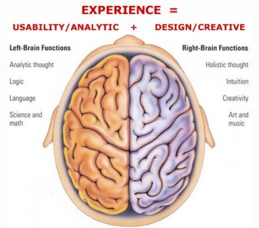 How to use both sides of your brain quora the left side is where you actually get the skills to doing something the right side is where you develop intuition to understand how to do certain skill ccuart Images