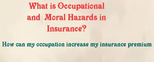 What is the difference between moral and morale hazards in