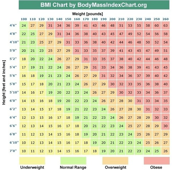What Is A Good BMI For A Girl?