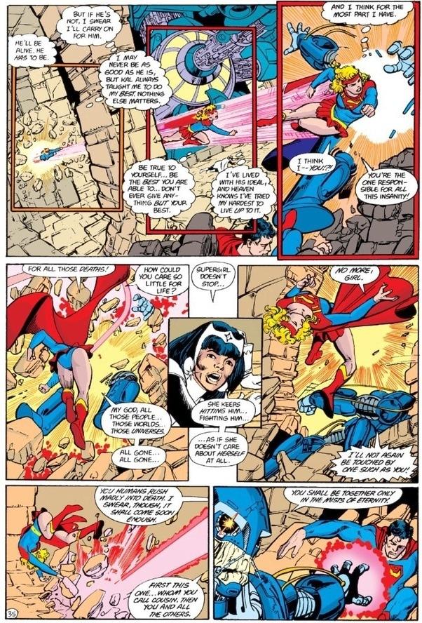 Mon-El vs Superboy from Titans of Tomorrow - Battles
