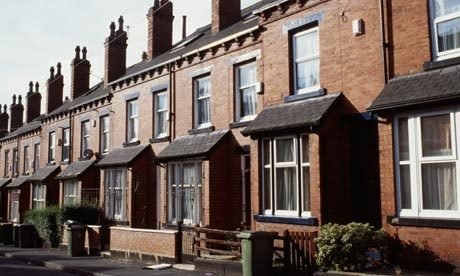 A Victorian Terrace; These Tend To Have A More Intimate Relationship To The  Street.