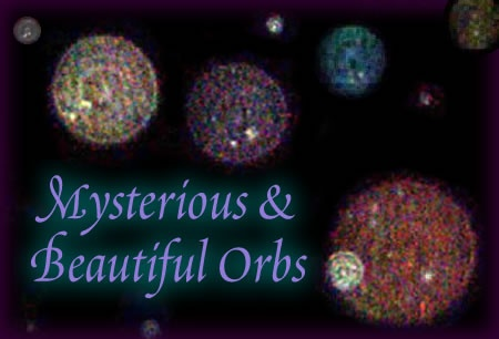 What are orbs? I capture them on my security camera infa red at