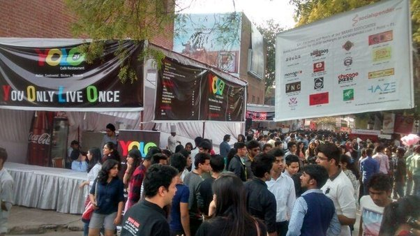 Organising cultural fests is a tough feat for DU colleges ...