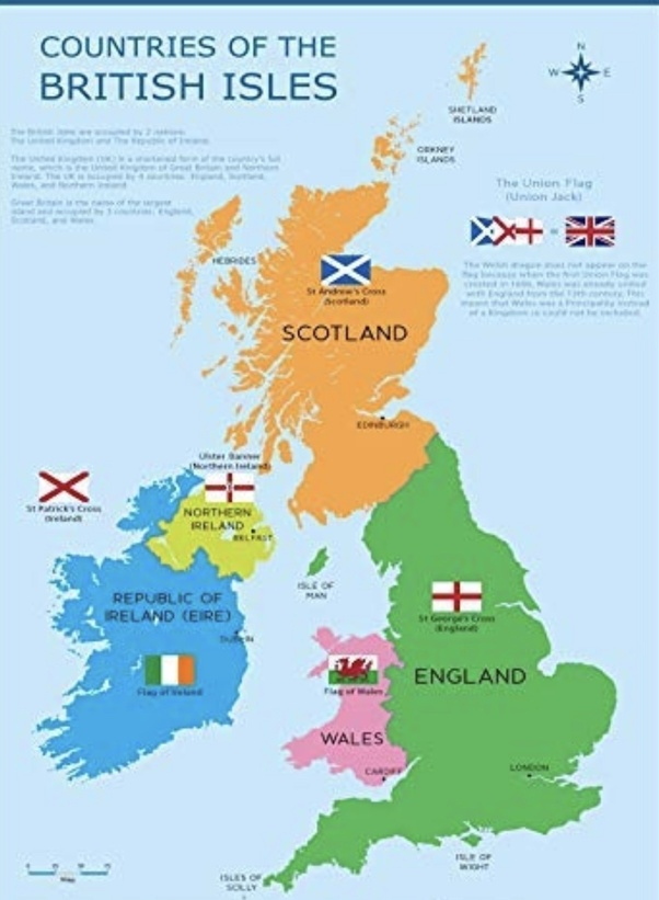 Big Map Of England.Why Was The United Kingdom S Name Changed From Great Britain To The