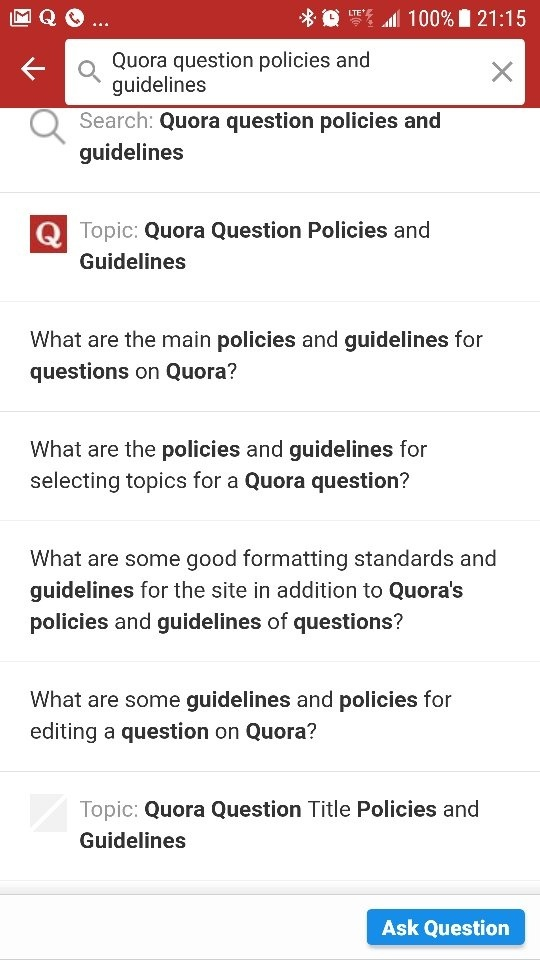 what is guidelines and policies