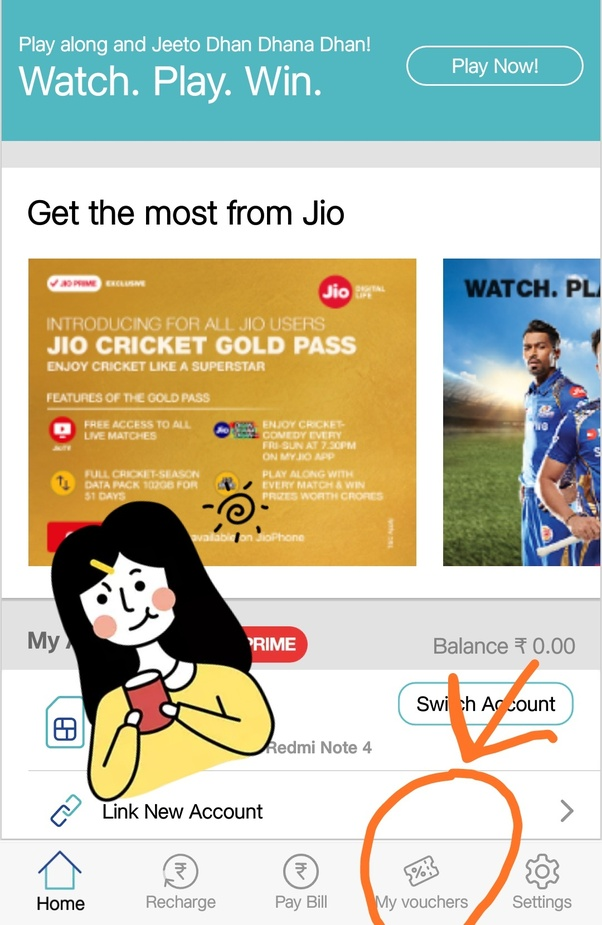 How will I get the extra 5 GB Jio data after my daily limit is