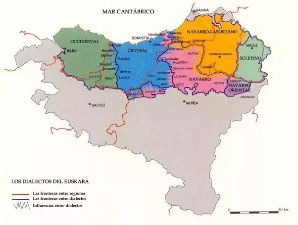 Do The Basque Communities In Spain And France Differ From Each - Is spain in france