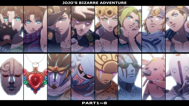 Not Counting The First Two Which Joestar Has The Weakest Stand In Jjba Quora Crazy diamond и the world. which joestar has the weakest stand