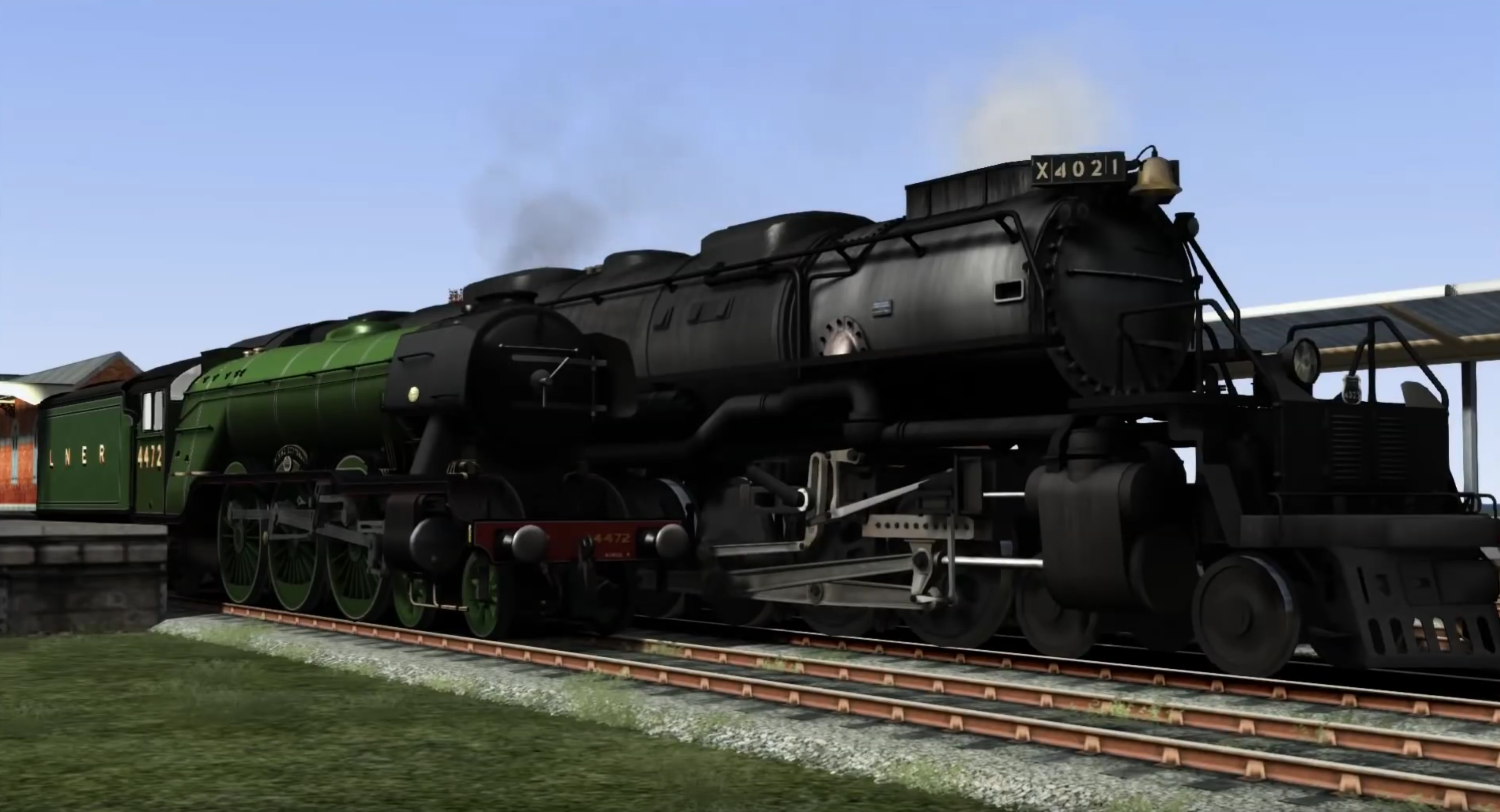Can American steam locomotives travel on U K  Railways? - Quora