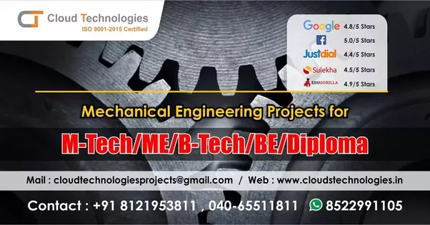 What are some projects a mechanical engineer can take up for hisher get mechanical projects topics and ideas for study and research cloud technologies provides the widest list of mechanical engineering projects topics to solutioingenieria Images