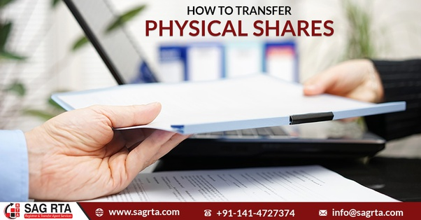 How to transfer physical shares - Quora