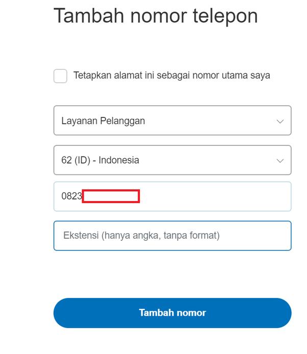 Mengapa Saya Tidak Bisa Konfirmasi Nomor Telepon Di Paypal Quora