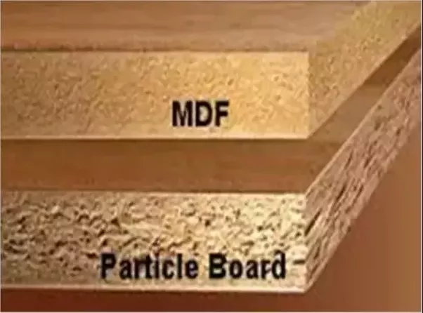 What is the difference between plywood and particle board