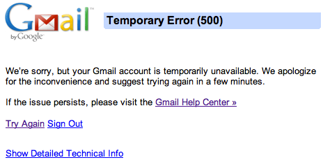 Gmail down_Gmail is dying
