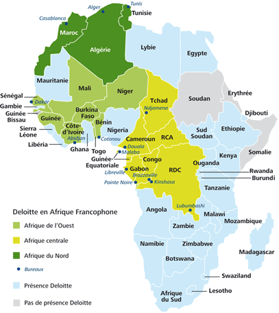 Map Of Francophone Africa.How Do People In African Francophone Countries Feel About