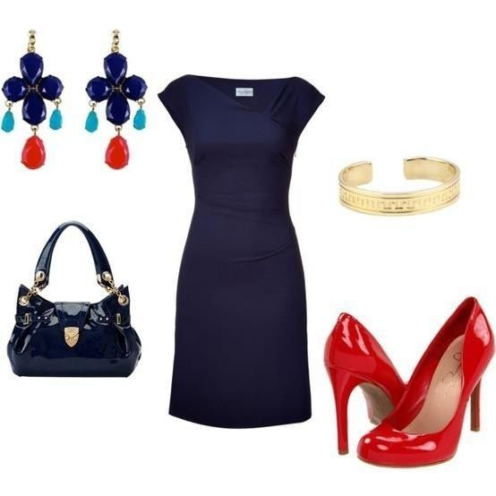 What Colors Go Best With A Navy Blue Dress Quora